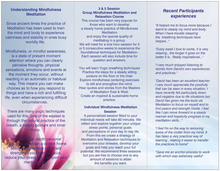 Mindfulness Meditation for Stress page 2